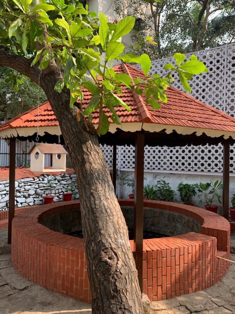 Villa Rashmi - A Heritage Gem in Mumbai   Old well at the backyard of the villa   TheKeybunch decor blog