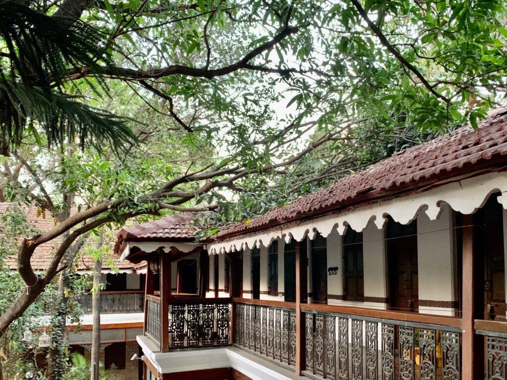 Villa Rashmi - A Heritage Gem in Mumbai   Verandah of old heritage villa in Mumbai   TheKeybunch decor blog