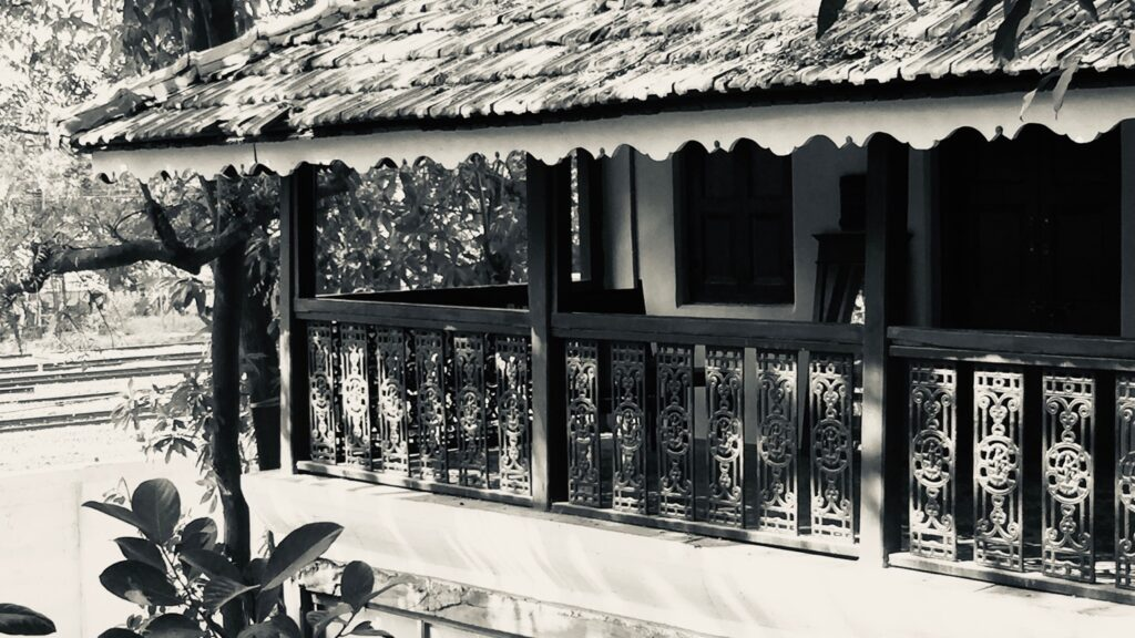 Villa Rashmi - A Heritage Gem in Mumbai   The wood roof in the villa heritage has been covered with Mangalore tiles   TheKeybunch decor blog