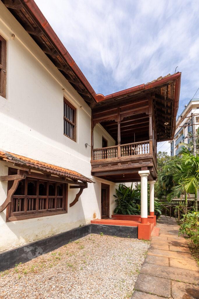 Kodialguthu House  Heritage home tour  The Keybun. Exterior of the Hebbagilu building