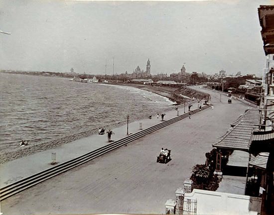 Villa Rashmi - A Heritage Gem in Mumbai   An old pic of Marine Drive when it was called Kennedy Sea Face   TheKeybunch decor blog