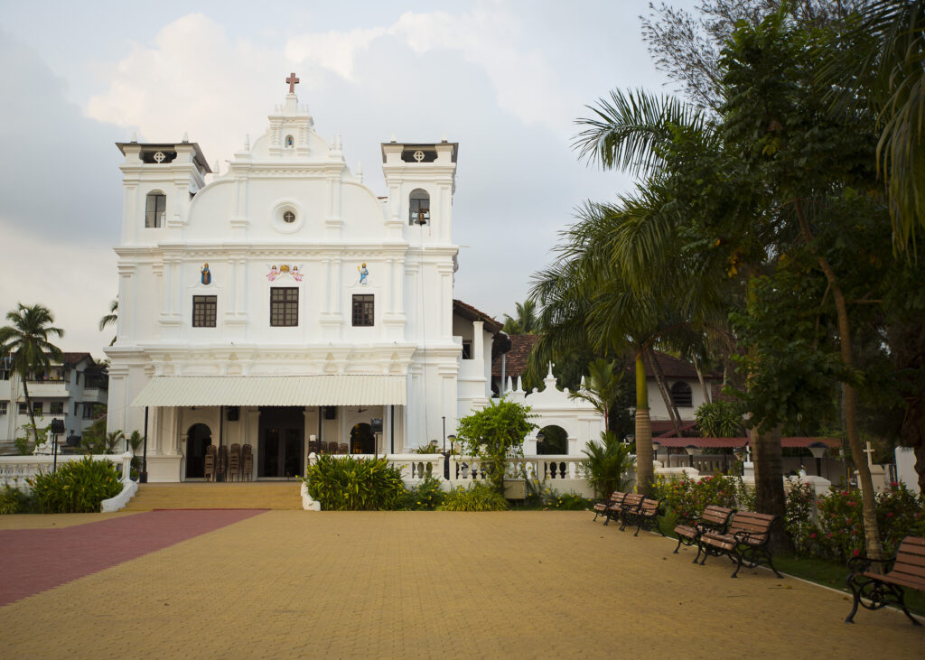 Betalbatim in Goa, India   Our Lady of Remdious Church in Betalbatim is at the center of the village   TheKeybunch decor blog