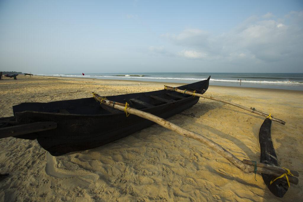 Betalbatim beach in Goa, India   The sunset beach is at Betalbatim village in South Goa   TheKeybunch decor blog