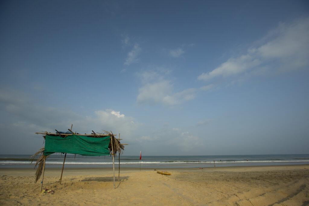 Betalbatim beach in Goa, India   The sky beach view   TheKeybunch decor blog