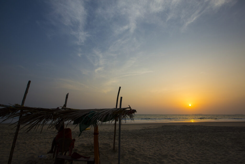 Betalbatim beach in Goa, India   The beautiful sunset while on the beach   TheKeybunch decor blog