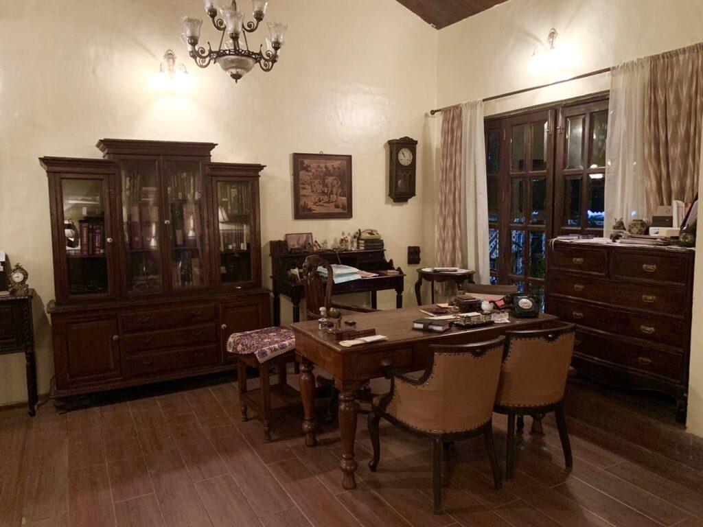 Villa Rashmi - A Heritage Gem in Mumbai   Authentic antique furniture at Villa Rashmi   TheKeybunch decor blog