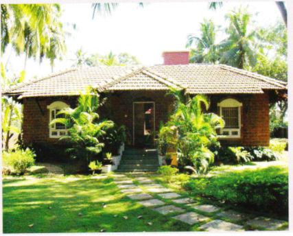 Betalbatim in Goa, India   Peace Cottage where Eleanor conducts her classes   TheKeybunch decor blog