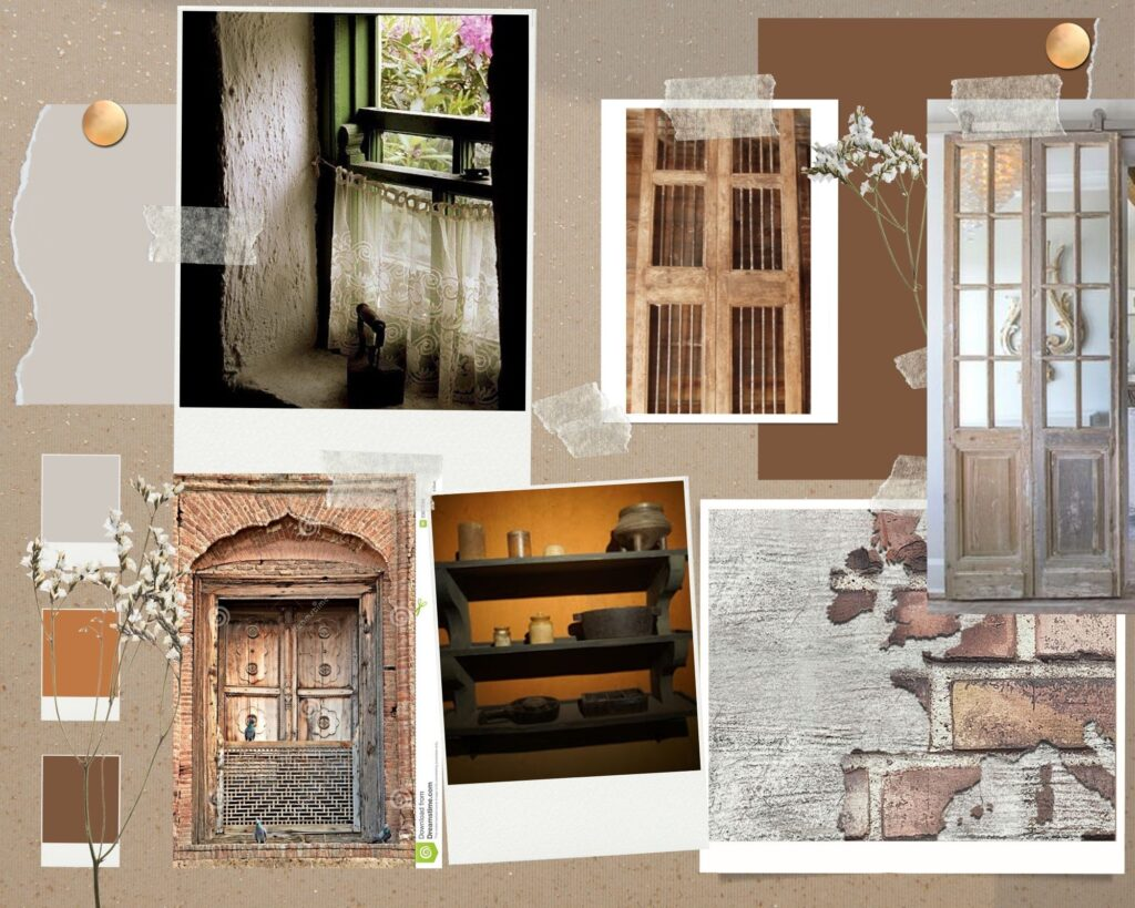 Lahore house in the movie Sardar Ka Grandson   The moodboards transitioned to the set
