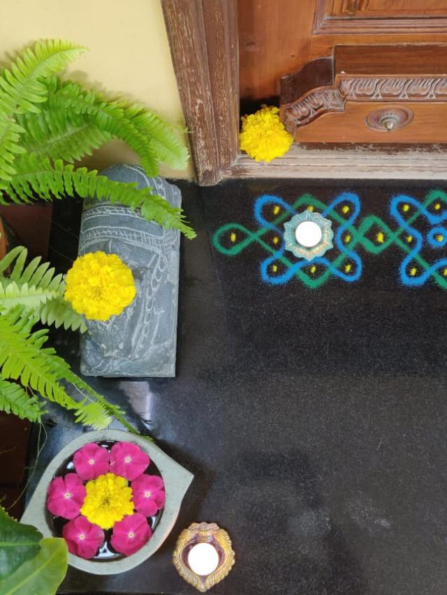 Diwali decor ideas from Jayalakshmy Krishna's Home