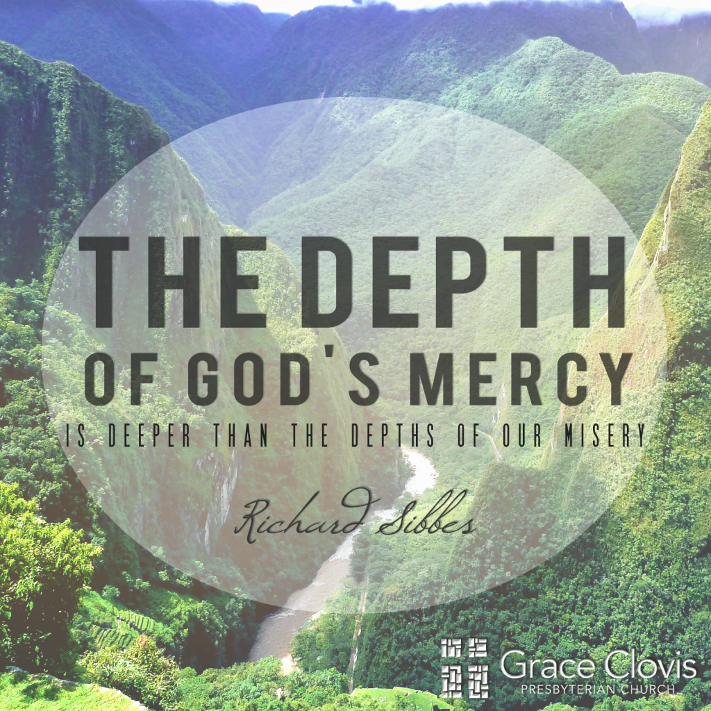 Mercy That Is Deeper Than Misery