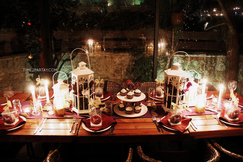 A Rustic Glam Birthday Dinner