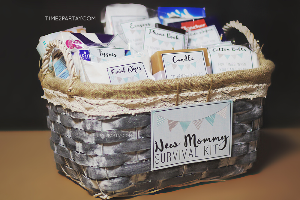 time2partay.com: New Mommy Survival Kit