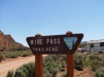 Wire Pass trailhead hiking tours