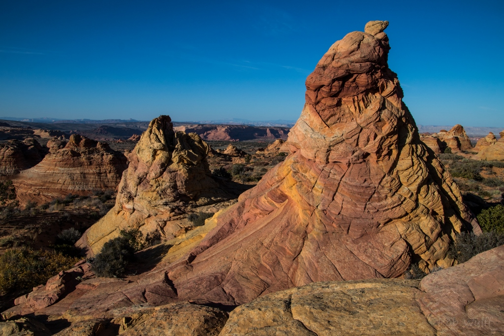 rock formations of South Coyote Buttes