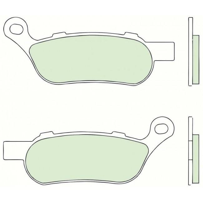 Pastilha de freio Brembo para Softail e Dyna 07HD07SP