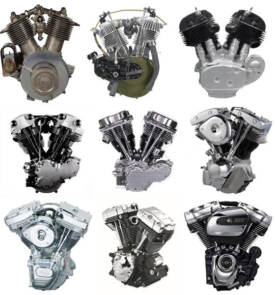 Conheça a história dos motores V-Twin Harley Davidson