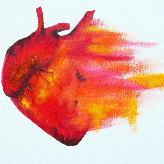 explodingheart
