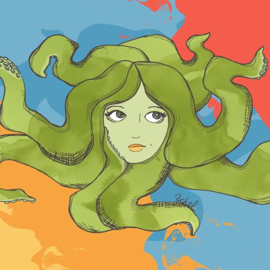 octopus hair