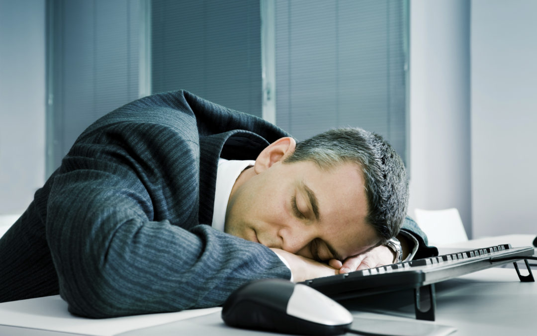 Turn a tired employee into an alert one with sleep, diet, exercise