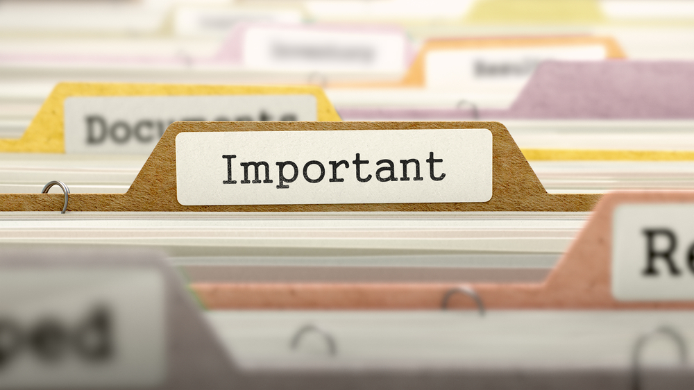 Managing, Protecting and Recovering Critical Documents