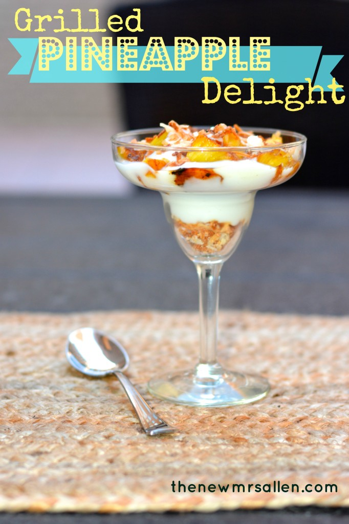 grilled pineapple delight