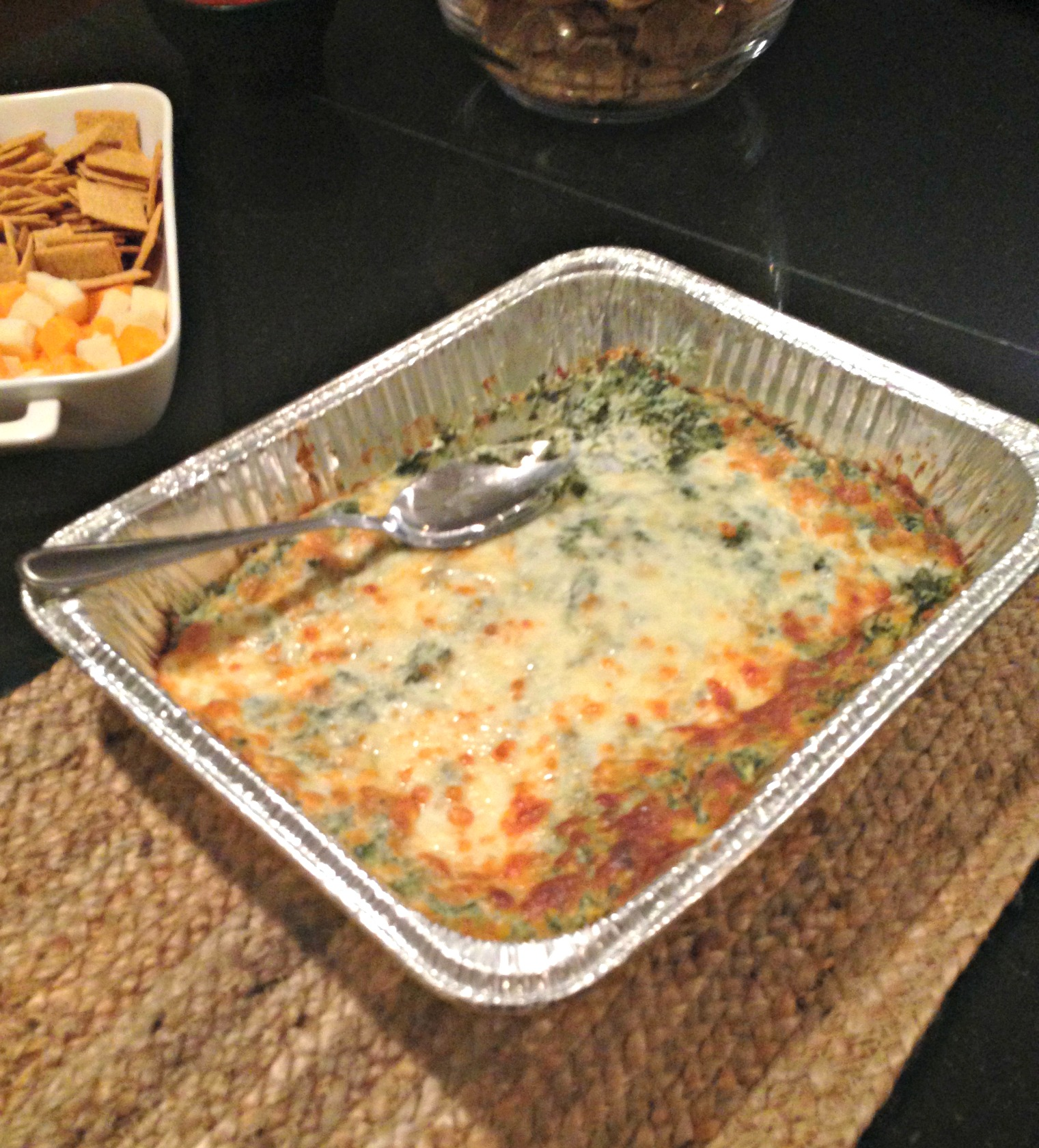 Prepped Spinach Dip