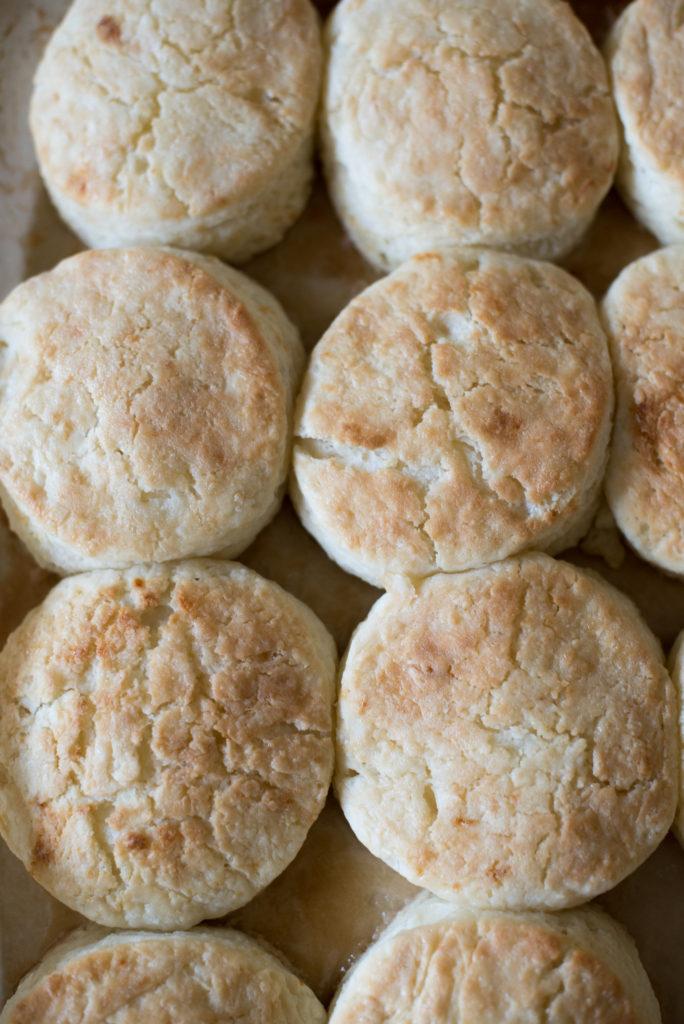 Honey Buttermilk Biscuits from Scratch   Firstandfull.com