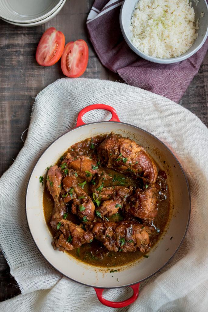 Trinidadian chicken | firstandfull.com