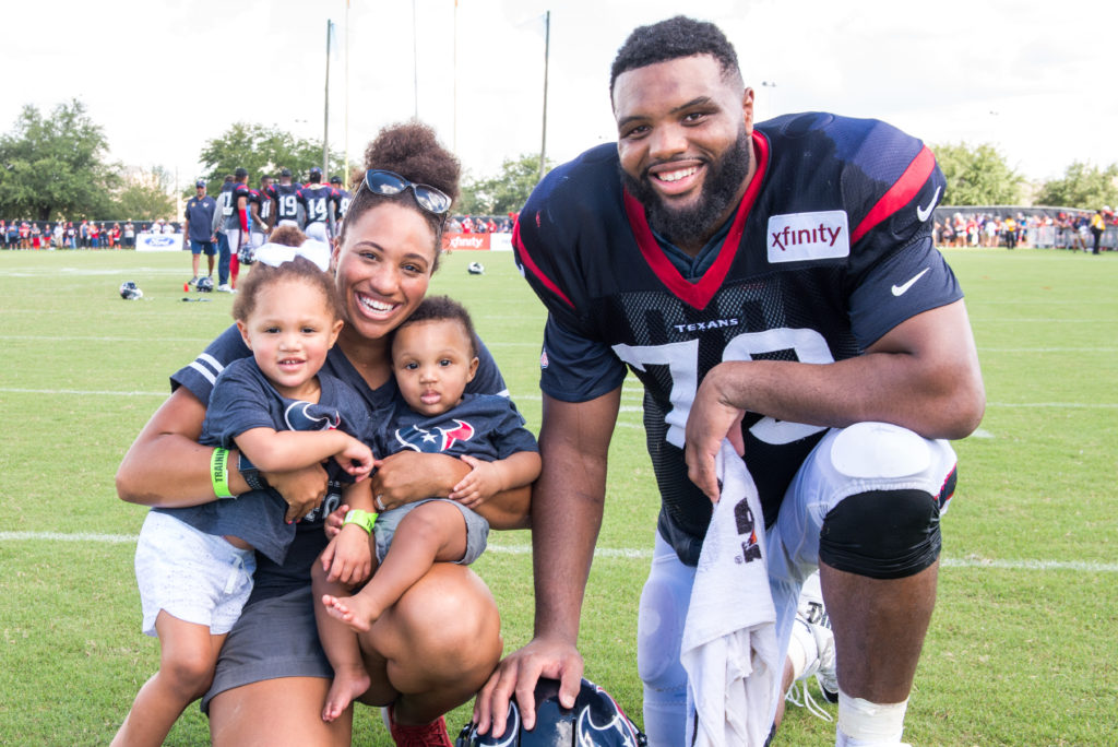 A NFL Week 1 family update of sorts. A unique perspective from an NFL wife and mother of 2. Talking Hurricane Harvey Recovery and game 1.