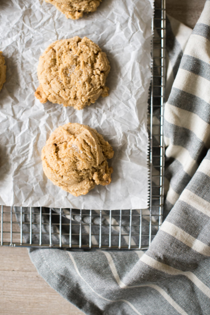 These classic peanut butter cookies are thick, chewy on the outside, and melt-in-your-mouth tender in the middle. Best Part: They take less than 20 minutes!