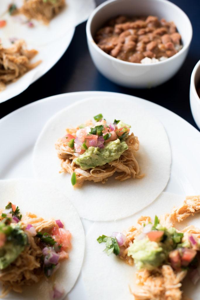 Whole30 Chicken Tacos al Pastor