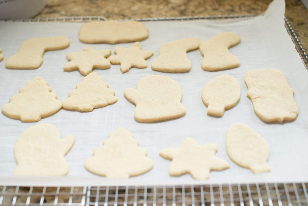 Delicious, buttery, and smooth cut-out sugar cookies perfect for your favorite holiday cookie cutters and adornments. They always hold their shape and stand up well to ALL the frosting and sprinkles!