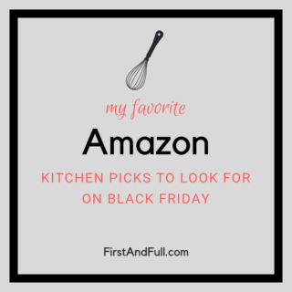 Kitchen from Amazon on Black Friday