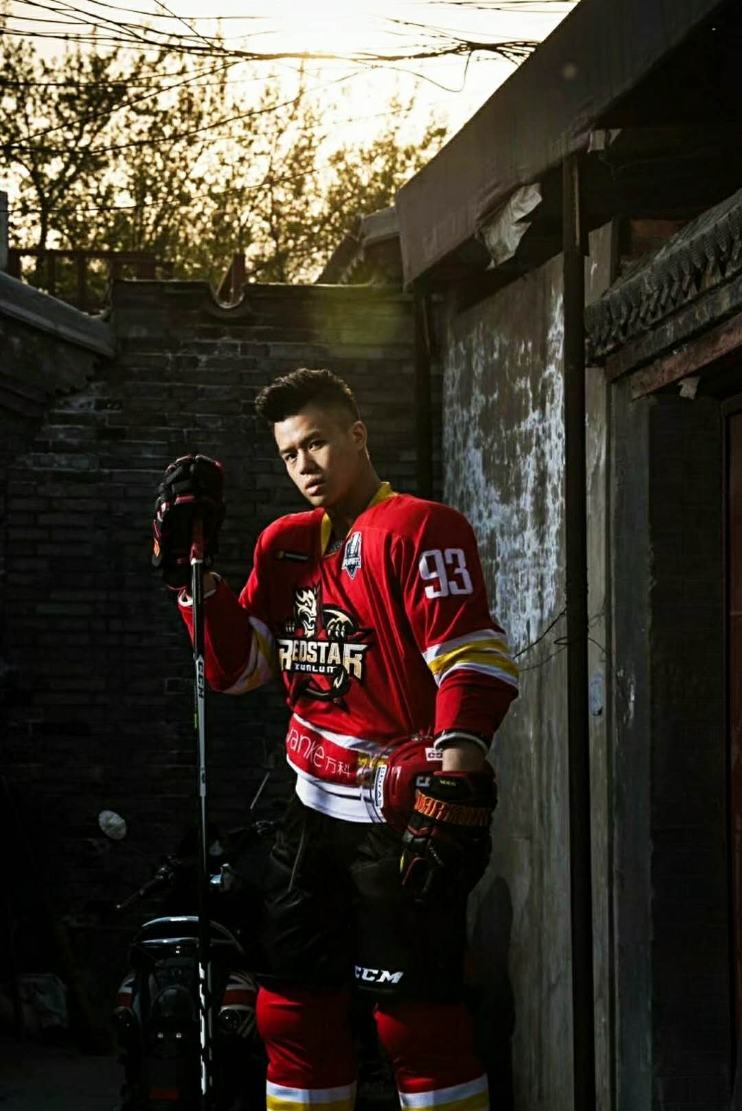 Interview: Zach Yuen, the face of Chinese ice hockey
