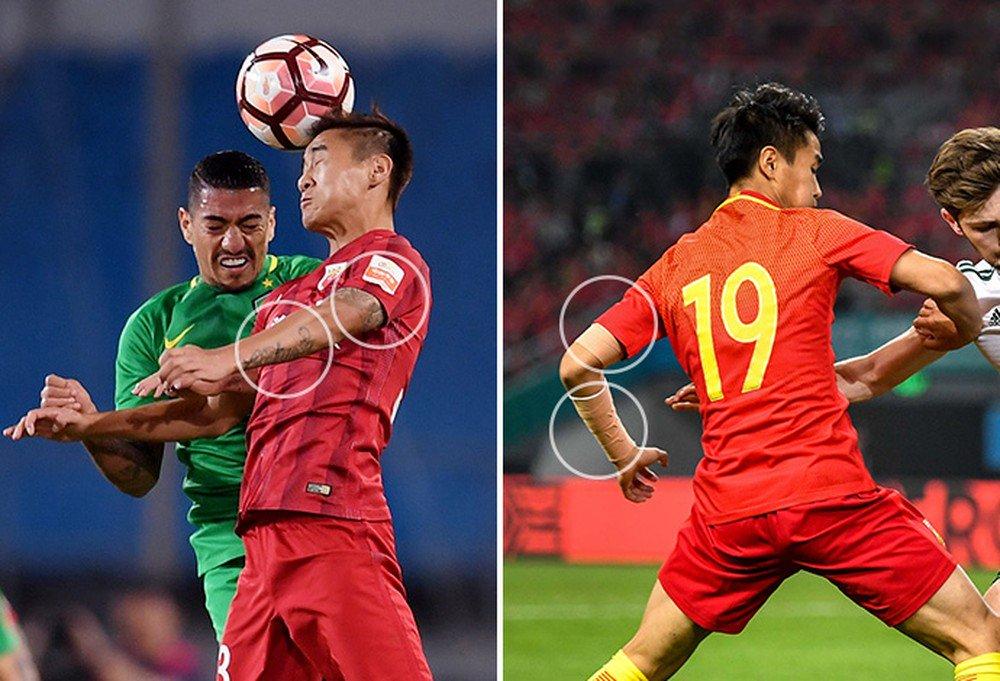 Gov't meddling in Chinese soccer, Pt 28: tattoo ban