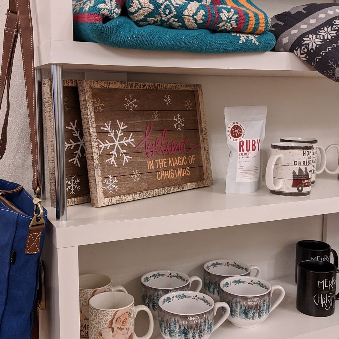 Shop in Downtown Marshfield for unique and one-of-a-kind gifts this winter.