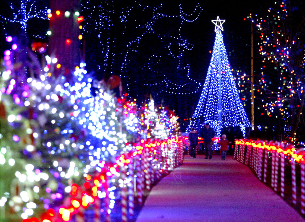 Don't miss the holiday display at the Rotary Winter Wonderland at Wildwood Park in Marshfield.