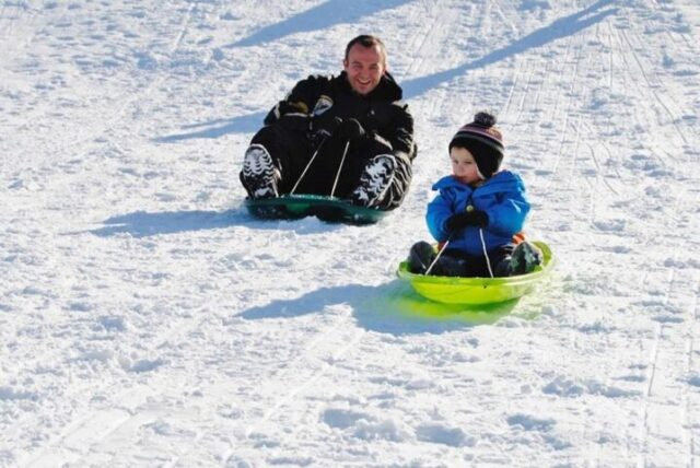 Take the whole family to Nepco Lake County Park for some winter fun!