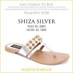 Eid Footwear Chappal For Girls Designed By Nadiya Kassam 2015 14