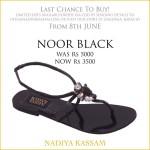Eid Footwear Chappal For Girls Designed By Nadiya Kassam 2015 16