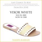 Eid Footwear Chappal For Girls Designed By Nadiya Kassam 2015 18