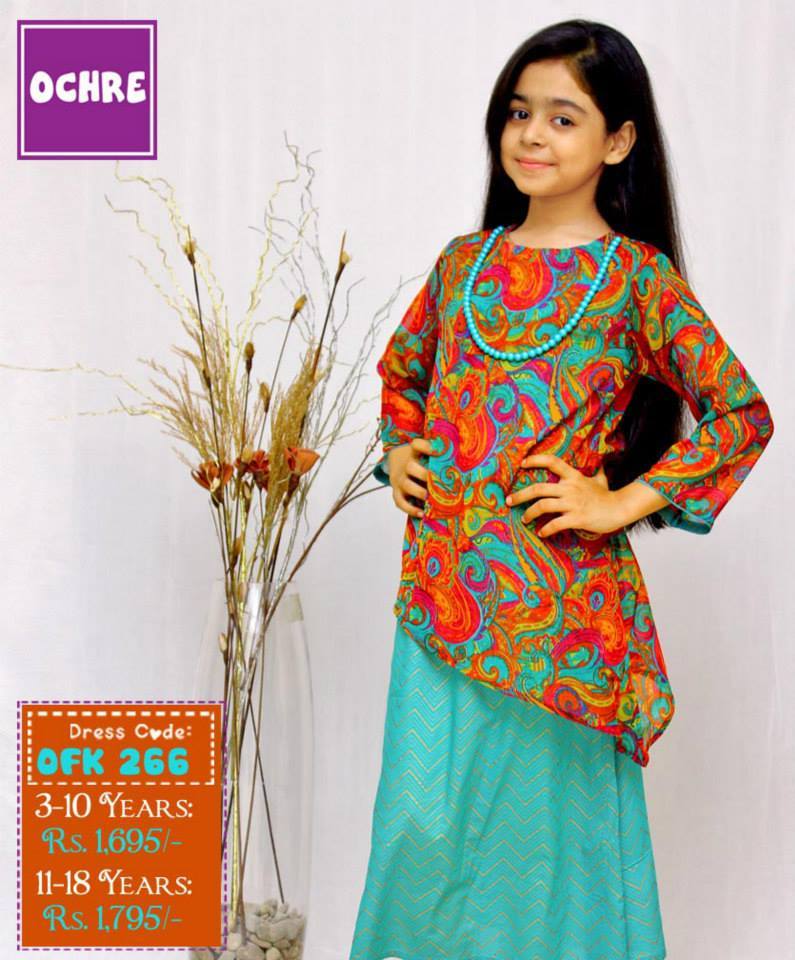 5e1faa8e3822 Summer Eid Kids Wear Dresses By Ochre 2015