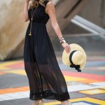 Trend Of Wearing Wedge Sandals Footwear With Summer Outfits 2015 2