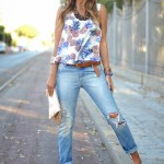 Trend Of Wearing Wedge Sandals Footwear With Summer Outfits 2015 4