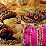 Beautiful Eid Bangles Bracelet Jewellery Designs For Girls 2015 3