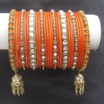 Beautiful Eid Bangles Bracelet Jewellery Designs For Girls 2015 6
