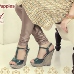 Women Eid Sandals Traditional Wear By Hush Puppies 2015 13