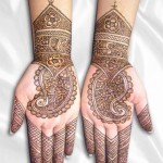 Eid Ul Azha Hand Mehndi Designs For Young Girsl 2015-16 9