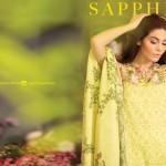 Eid Ul Azha Kurti Tights By Sapphire 2015-16 15