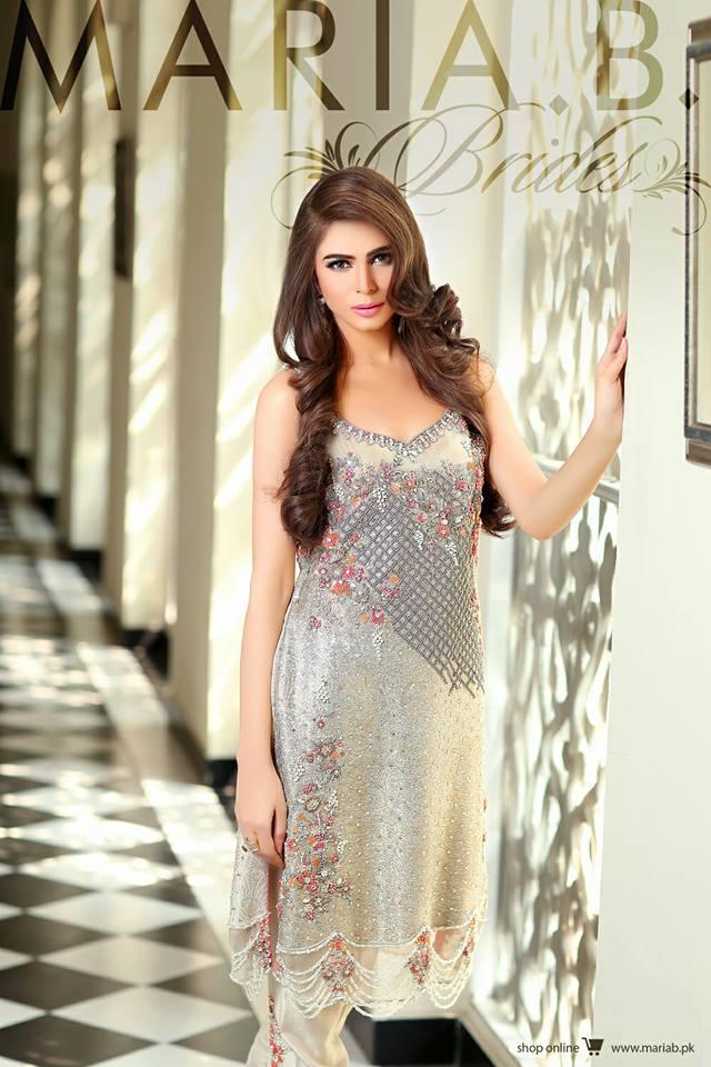 Eid Ul Azha Lawn Dresses By Maria B 2015-16